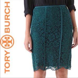 NWT Tory Burch Lace 'Everett' Skirt